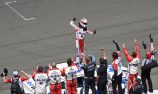 Harvick breaks season duck with win at Sonoma