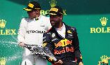Relieved Ricciardo after pressure filled podium fight