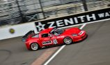 French scores class podium at Brickyard Vintage