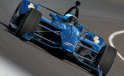 Successful first test for new IndyCar aero kit
