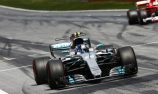 Bottas hangs on to victory in Austria