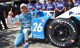 Sato pole, Hunter-Reay in major crash at Pocono