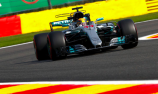 Hamilton equals Schumacher pole record at Spa
