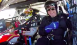 VIDEO: McLaughlin takes father for wild ride