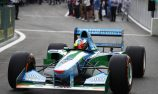 Mick Schumacher impressed by father's Benetton