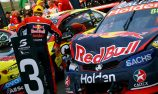Whincup lucky to limp home in third
