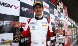 Sensational first British F3 victory at Brands Hatch Grand Prix Circuit for Double R debutant Mahadik