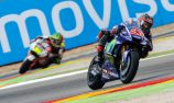 Viñales pole, remarkable Rossi on front row