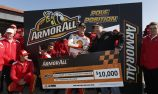 McLaughlin receives Armor All Pole Champion award