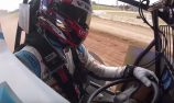 VIDEO: Tander turns sprintcar laps