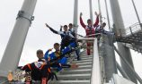 VIDEO: SkyPoint climb for international karters