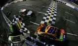 Kyle Busch clear of wreckage to win in Martinsville