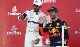 Hamilton happy if Ricciardo his team-mate one day