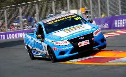SUPPORTS: Harris closes in on V8 Utes title