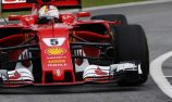 Vettel fearing gearbox change and grid penalty