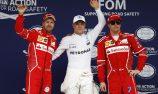 Bottas snatches pole as Hamilton crashes out