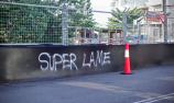 Vandals target Newcastle Supercars circuit