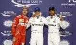 Bottas edges Hamilton to pole in Abu Dhabi
