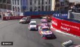 VIDEO: Whincup and Caruso lap one contact