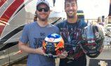 VIDEO: Ricciardo takes in NASCAR