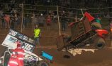 Madsen ends night in fence in WSS Round 2