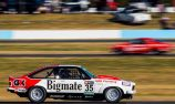 TCM Torana in testing collision with Kostecki car