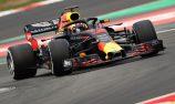 Ricciardo tops opening day of F1 testing