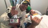 Injured Walsh receives B12Hr winners trophy