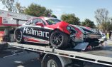 Porsche in AGP ride session crash