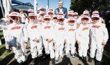 Grid kids at Australian Grand Prix