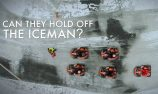 VIDEO: Iceman goes snow karting