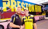 Matt Brabham recieves support from Preston Group