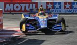 Rossi, Power qualify on front row at Long Beach