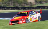 Shell Fords lock out front row for Race 9 at PI