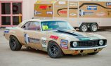 New TCM Camaro joins grid at Winton