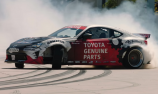 VIDEO: AE86 v GT86 factory drifting session