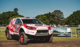 Electric rally car entered into Finke