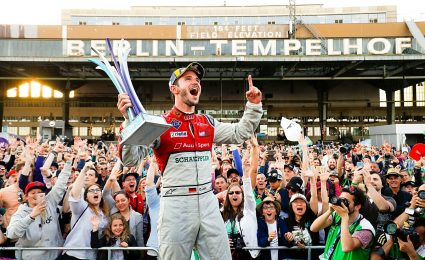 Abt turns pole into victory at Berlin Formula E