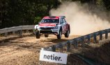 Evans takes lead after first leg of National Capital Rally