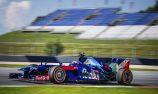 Webber coaches MotoGP champ Marquez in F1 test