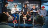 Marc Marquez, Mark Webber, Dr. Helmut Marko, Niki Lauda