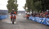 Price victorious again on bike in Finke