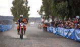 Price victorious again on bike in Finke