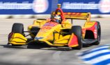 Hunter-Reay wins in Detroit, Power regains series lead