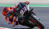 Marquez sets late fastest lap in Barcelona test