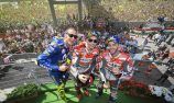 Ducati's Lorenzo leads Italian party in Mugello
