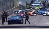 GM exec crashes pace car, delaying IndyCar race