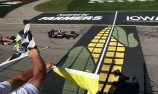 Hinchcliffe wins in Iowa as Newgarden gets trapped by Caution