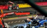 BMW leads after massive crash at 24 Hours of Spa