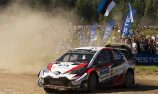 Tanak pulls ahead in Rally Finland